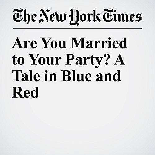 Are You Married to Your Party? A Tale in Blue and Red copertina