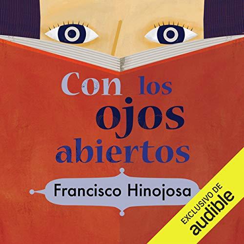 Diseño de la portada del título Con los ojos abiertos
