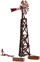 Woodland Scenics HO Built-N-Ready Old Windmill (Weathered)