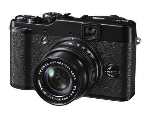 Fujifilm X10 Fotocamera Digitale 12 MP, Sensore CMOS EXR 2 3 Pollici, Zoom 4x 28-112 mm, f 2.0-2.8, Stabilizzatore Ottico