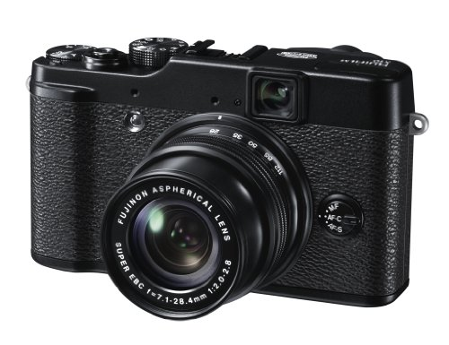 Fujifilm X10 Digitalkamera (12 Megapixel, 4-fach optischer Zoom, 7,1 cm (2,8 Zoll) Display)