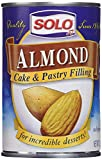 Solo Almond Cake and Pastry Filling 12.5oz, 2 Cans by Solo Foods...