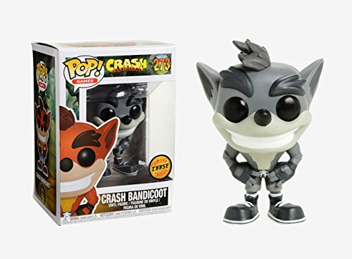 Funko Pop! - Crash Bandicoot Figura de vinilo (25653) - version CHASE