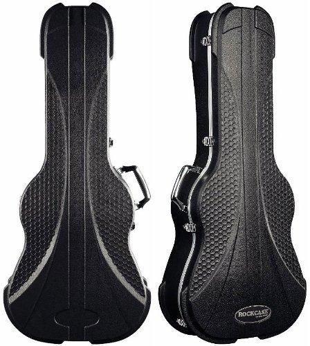 RockcASE RC-ABS10511 BCT Premium Delux Line koffer voor 12-snarige akoestische gitaar, zwart