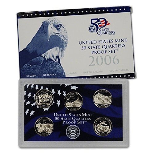 2006 S 5 Coin U.S Mint Proof Statehood Proof