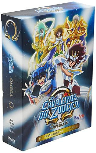 Os Cavaleiros Do Zodíaco - Ômega – 2ª Temporada - Box 3 - [DVD]