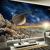 Tapeten Wandbilder,Vintage Stereo Planet Moon Anpassen Von