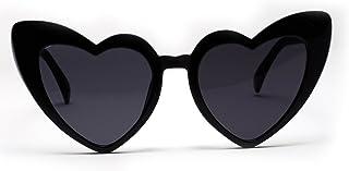 AKDSteel Gafas de sol retro con forma de corazón para mujer UV400 Gafas de viaje deportivas al aire libre el último estilo
