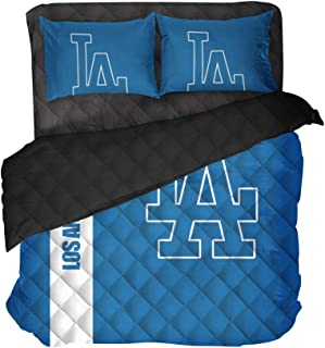 90s Vintage BASEBALL Dodgers Sports Fitted Sheet....los angeles retro green children sports bedding sleepover kids bedding kids boys