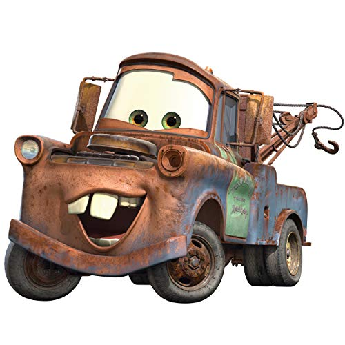 Roommates Rmk1519Gm Disney Pixar Cars Mater Peel & Stick Giant Wall Decal