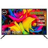 TV LED INFINITON 50' 4K UHD 2000HZ - Smart TV - Android 9.0 - Reproductor y Grabador USB - HDMI - Modo Hotel