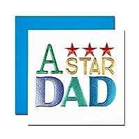 父の日カード 「スクリプト」 02 A ★★★ star DAD