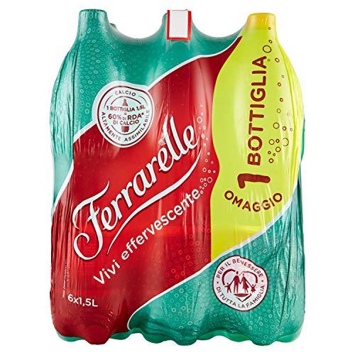 Ferrarelle Effervescente Acqua Naturale, 6 x 1.5L