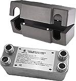 Intercambiador de calor de placas NORDIC Ba-16-34, max. 135kW, 1', 34 placas
