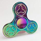 HBBOOI Fidget Spinner Métal EDC Main Spinner Finger Spin Made Antistress Mise au...
