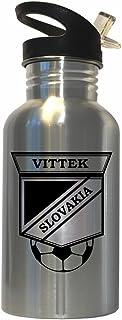 Robert Vittek (Slovakia) Soccer Stainless Steel Water Bottle Straw Top