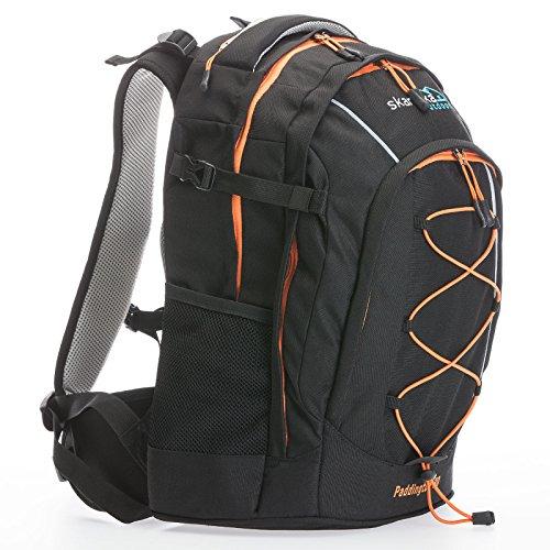 Skandika Paddington Zaino Escursionismo Nero/Arancio 30 Litri Nuovo