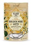 Beloved Golden Milk Latte, Organic Plant-Based Turmeric Latte Mix   Anti-inflammatory Turmeric   Adaptogenic Ashwagandha   Packed with Antioxidant & Nutrient Dense Superfoods   16 cups (8 oz)