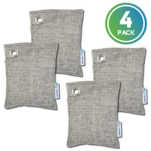 Best Review Of Guardian Technologies CB1004PK Pure Guardian Bamboo Charcoal Air Purifier Bags, Eco-F...