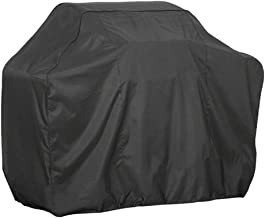Adarl BBQ Grill Cover Heavy Duty 190T Oxford Waterproof,Dustproof and Rainproof for Most Models and Brands - Square Black 3XS