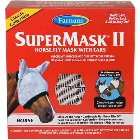 SuperMask II Fly Mask for Horses
