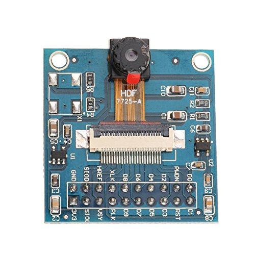 MagiDeal Ov7725 Qvga Kameramodul Mit Adapterplatte Für Arduino Roboter