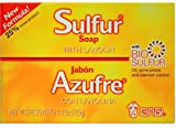 Grisi Bio Sulfur Soap with Lanolin, 4.4 oz (Pack of 12)