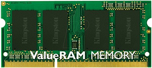 Kingston KVR16LS11/4 - Memoria RAM de 4GB (DDR3L Non-ECC 1600 MHz, FBGA SODIMM 204-pin, 1.35 V CL11)