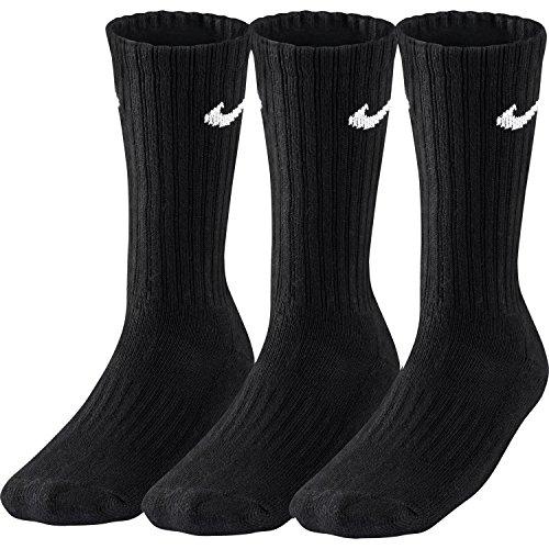 Preisvergleich Produktbild 12 Paar Socken Nike Sport Vorteilspack schwarz Größe L (42 46) Socken.