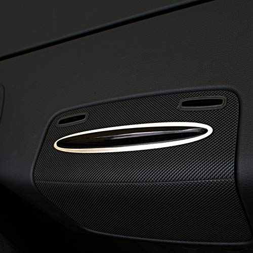 1 Zierrahmen für Parksensor hinten von Mercedes SLK 172 aus Aluminium R172 FL 280 200 350 AMG55 AMG45