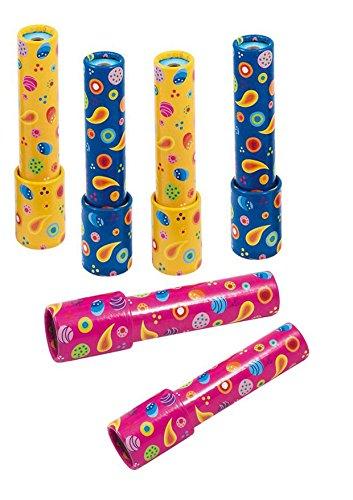 Goki Caleidoscopio rotante per compleanni e feste per bambini Confezione da 6