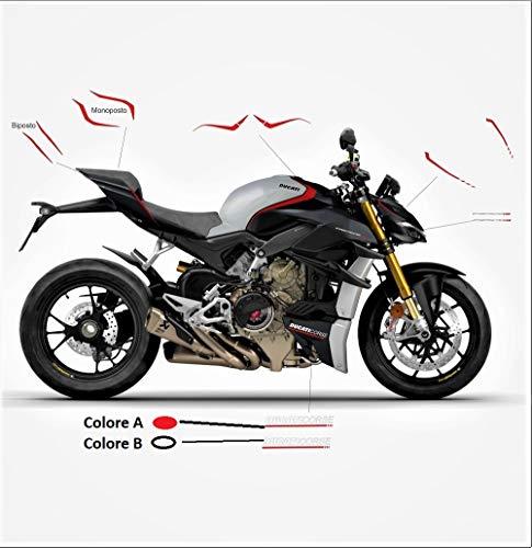 Vulturbike Aufkleber-Set Design Panigale SP - Ducati Streetfighter V4 / V4S