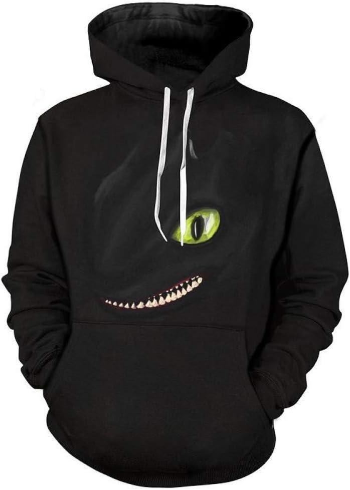 LUO Sweatshirts 3D Hommes Imprimé À Capuche Pull De Mode Hip Hop Sweatshirts Hommes Cool,* L L