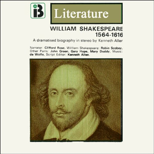 William Shakespeare audiobook cover art