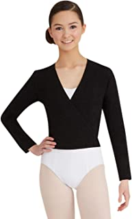 Capezio Women's Self Tie Wrap Top
