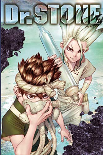 DR. STONE: Japanese Anime, Manga Notebook for Writing, Drawing Sketching and Creative Ideas, Gift for Teens Girls Boys Men Women Japanese Anime Lovers, Lined Notebook Journal (6'X 9' in, 100 Pages)