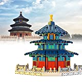 WDYY 1736 Piezas de Arquitectura de Referencia mundialmente Famosa Templo del Cielo Modelo 3D Mini Bloques de construcción Nano Ladrillos Bloques Juguetes Regalo de cumpleaños