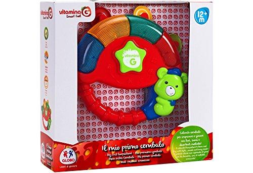 Globo Toys 5177 Vitamina _ G Cembalo avec lumières et Musique