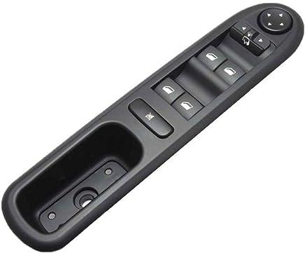Censhaorme Peugeot 407 SW 2004-2010 Ventana Delantera del Conductor Lado Izquierdo del Interruptor del
