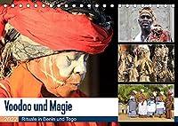 Voodoo und Magie (Tischkalender 2022 DIN A5 quer): Geheimnisvolle Welt des Voodoo (Monatskalender, 14 Seiten )