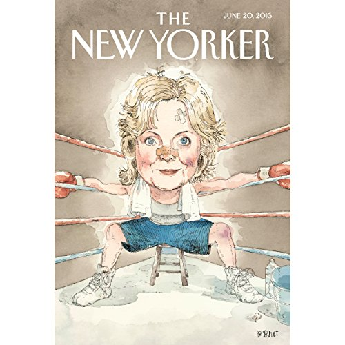 The New Yorker, June 20th 2016 (Jennifer Gonnerman, Raffi Khatchadourian, Louis Menand) cover art