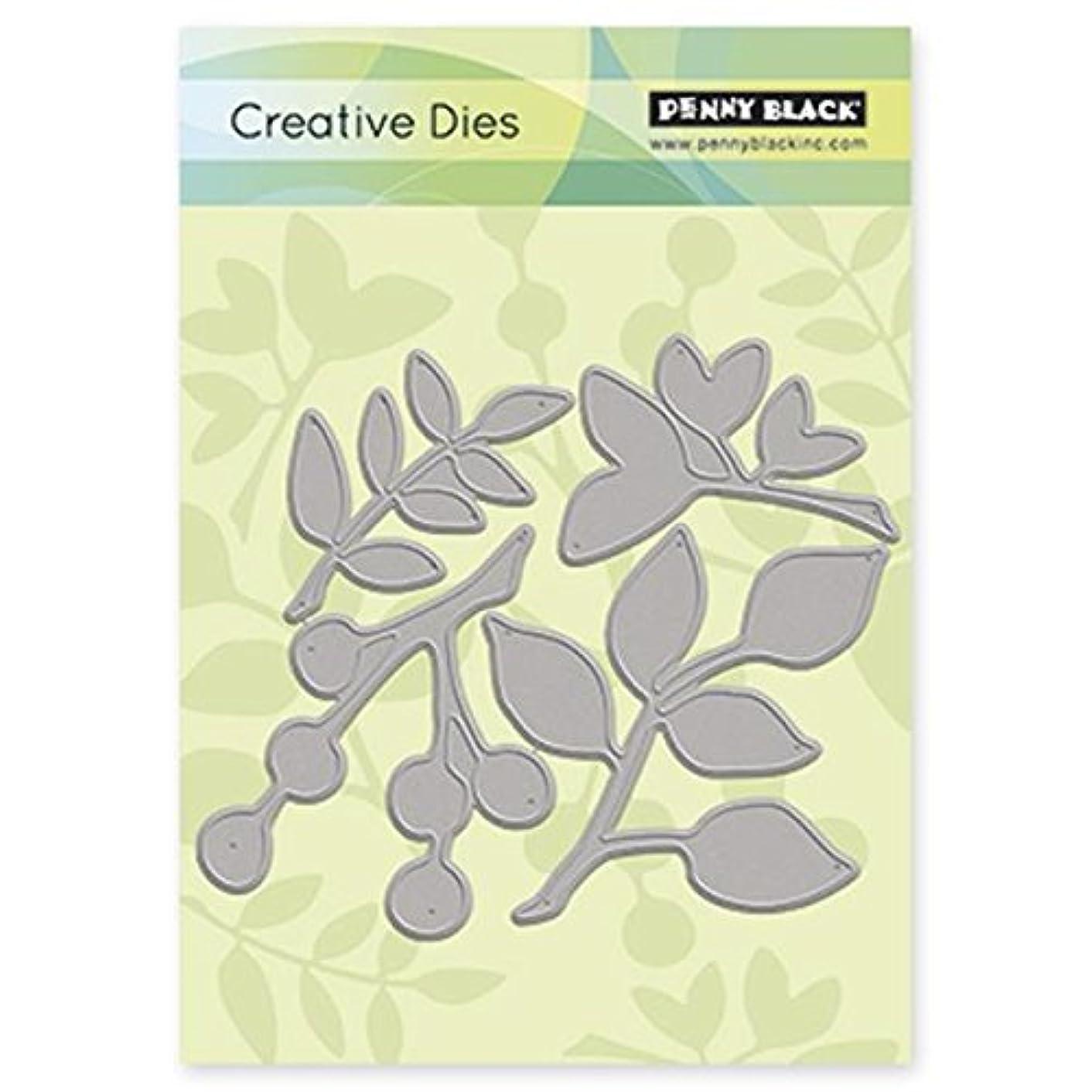 Penny Black Leaves Decorative Dies