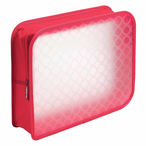 Pendaflex Zip Wallet Poly File, 3 Inch Expansion, Pink or Blue (No Color Choice), Each (27909)
