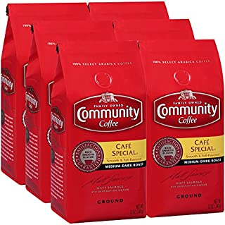 Community Coffee Café Special Ground Coffee, 12 Ounces (Pack Of 6)