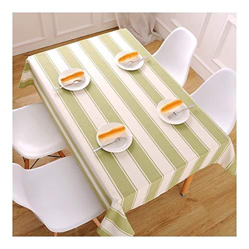 William 337 Mantel rectangular impermeable a prueba de aceite, para fiesta, boda, mantel de escritorio, duradero, fácil de limpiar (color: 3 #, tamaño: 140 x 210 cm)