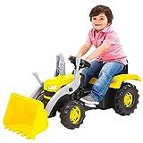 Charles Bentley Paseo los niños niño dolu Amarillo Excavadora una Pala cargadora Edad 3+ años