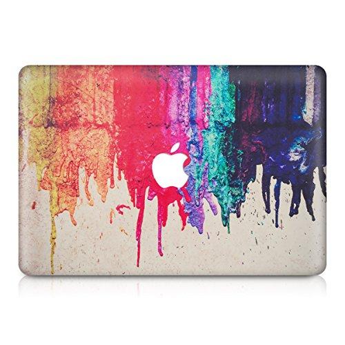 kwmobile Aufkleber Sticker kompatibel mit Apple MacBook Air 13