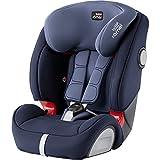 Britax Römer Kindersitz 9 Monate - 12 Jahre I 9 - 36 kg I EVOLVA 123 SL SICT Autositz Isofix Gruppe 1/2/3 I Moonlight Blue
