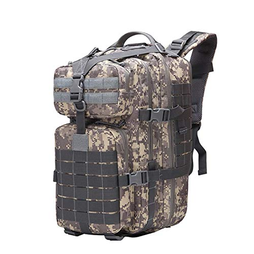 Mochila de viaje al aire libre, mochila de supervivencia, gran capacidad de 40 l, para camping, senderismo, viajes al aire libre (tamaño: tamaño libre; color: 3)