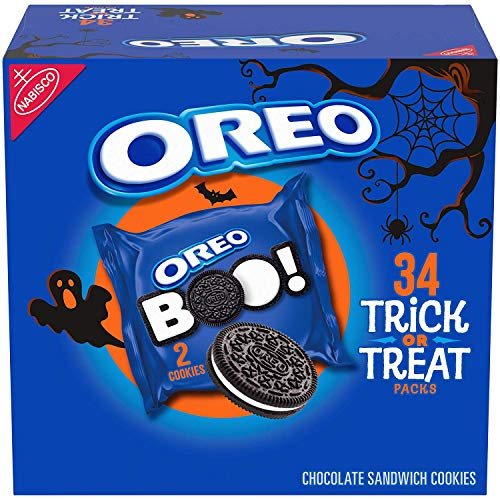 Oreo Halloween Sandwich Cookies - 34ct